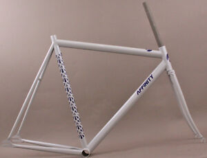 New-Affinity-LoPro-Pursuit-Track-Bicycle-Frameset-18-Gray-54cm-MSRP-749-99