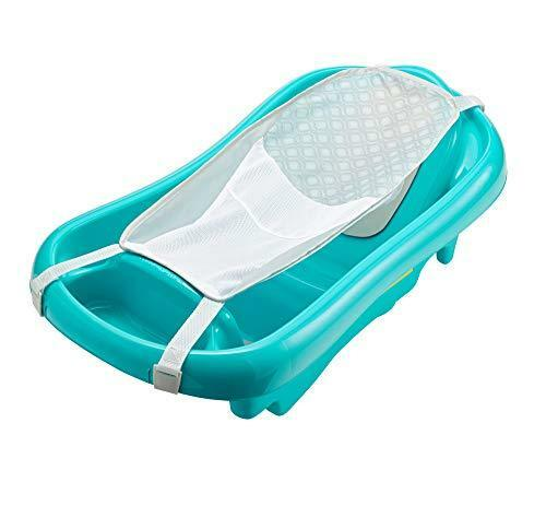 NEW The First Years Sure Comfort Deluxe Newborn To Toddler Tub Aqua SHIPS FREE