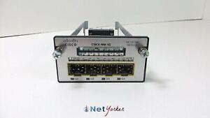 Cisco-C3KX-NM-1G-4-Port-SFP-Gigabit-Ethernet-Network-Module-FastShipping