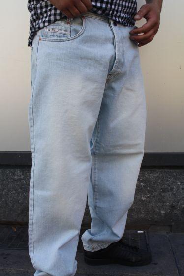 Viazoni Jeans Zicco 472 IceBlau Saddle- Karottenscnitt BASIC JEANS hellblau