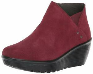 Details about Skechers Women's Parallel Ditto Asymmetrical Collar Suede Bootie Ankle Boot, B..