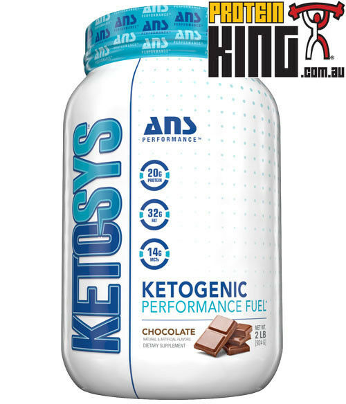 Ans ketosys 14 SRV Chocolate ketogenic Rendimiento Projoeína de reemplazo de comidas de combustible