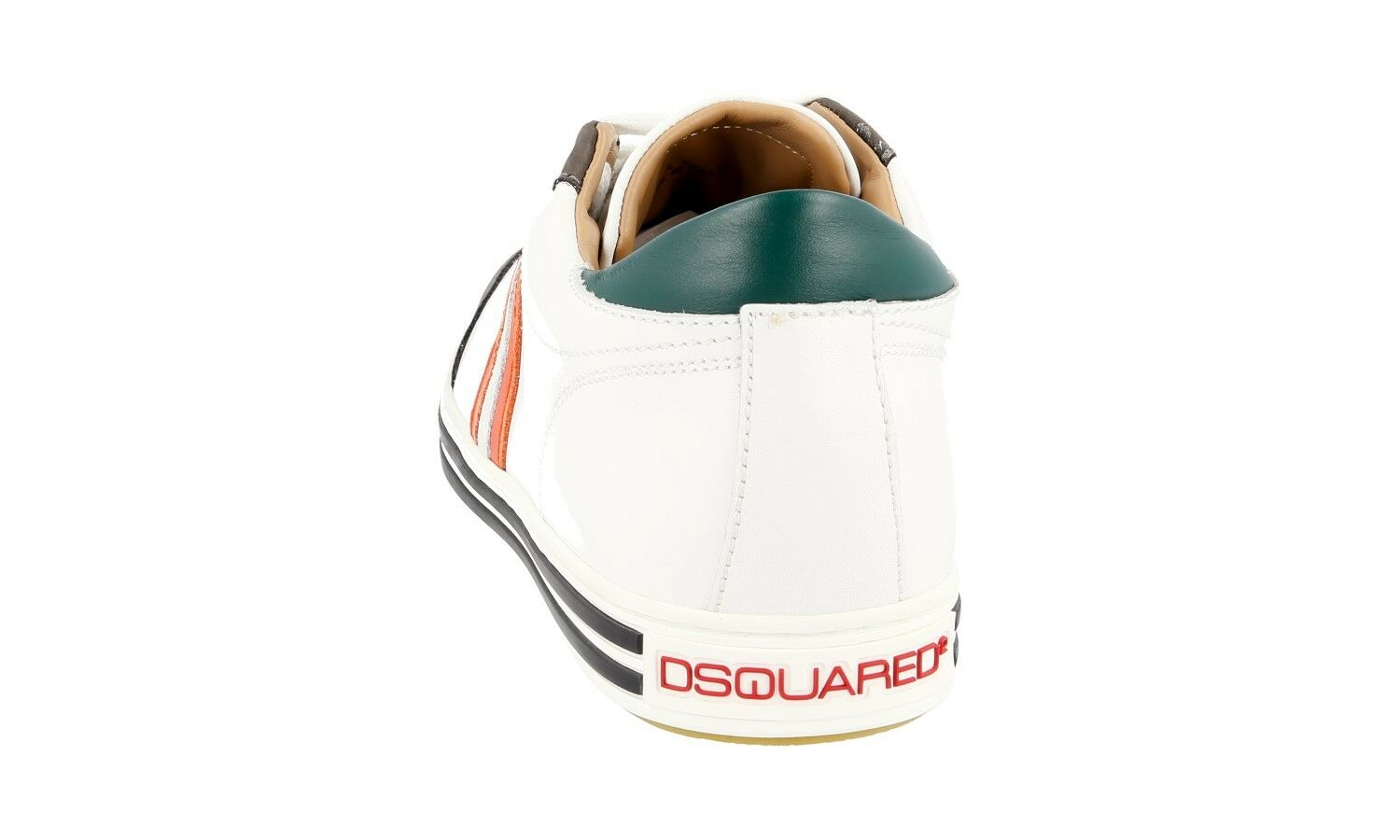 AUTHENTIC LUXURY LUXURY LUXURY DSQUARED SNEAKERS SHOES SN408 WHITE NEW US 10 EU 40 40,5 537d9b