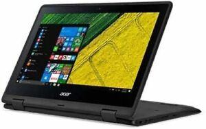 """Acer 11.6"""" Touchscreen CONVERTIBLE Laptop INTEL N4100 CPU 4G RAM 64G eMMc"""