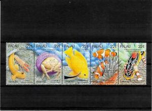 Briefmarken -Palau -Fische -Satz