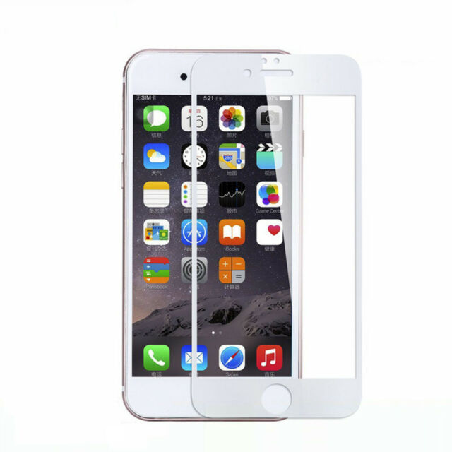 Pantalla Cristal Protector Para Apple IPHONE 7 4.7 inch Cubierta de Blanco