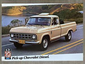 1981-Chevrolet-D10-Pick-up-Pickup-original-Brazilian-sales-brochure