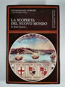LA SCOPERTA DEL NUOVO MONDO di Jean Cassou 1971 De Agostini libro usato storia