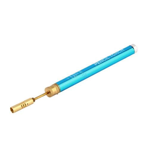 Mini-Gas-Lötlampe Gun schnurlosen Stift Schweißen Löten Lötkolben Brenner j
