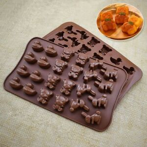 Bear-Silicone-Cake-Chocolate-Mould-Candy-Cookie-DIY-Decorating-Baking-Mold-IN9Z