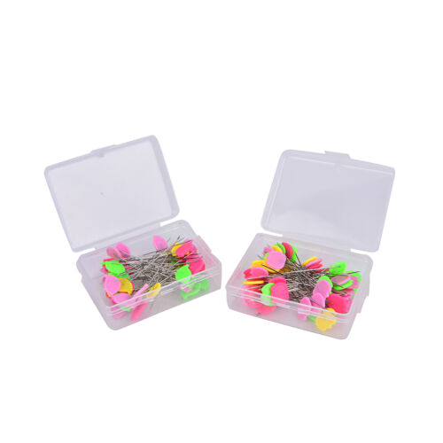 50X Patchwork Pins Bird Button Head Pins DIY Quilting Tool Sewing Accessories *