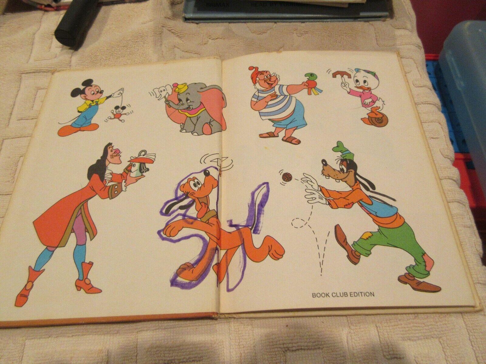 Vintage Disney 1974 THE MICKEY MOUSE MAKE IT BOOK Hardc
