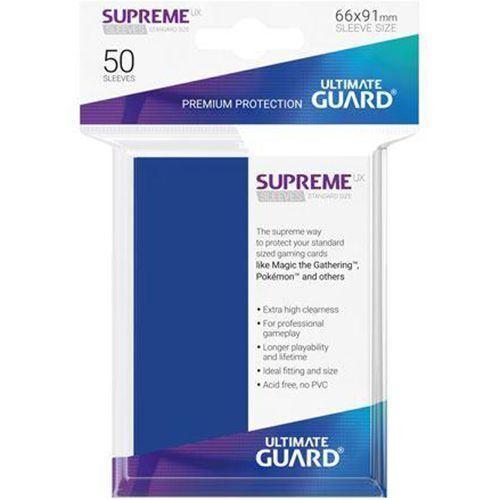 Protège-cartes Ultimate Guard SUPREME UX Bleu x50  Neuf Accessoires