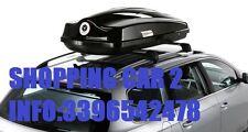 """BOX AUTO TETTO """"MODULA CIAO"""" 430 LT  BAULE PORTATUTTO MADE IN ITALY + GARANZIA"""