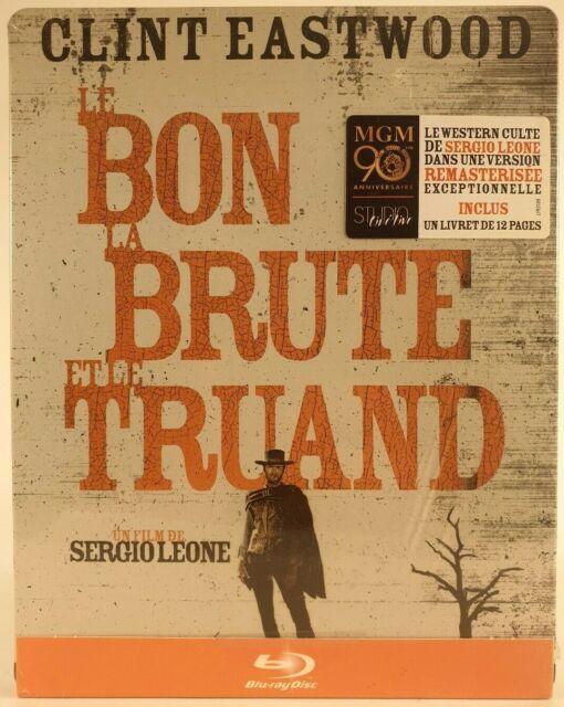 Le bon,la brute et le truand Blu-ray steelbok édition limité _livret +dvd Neuf