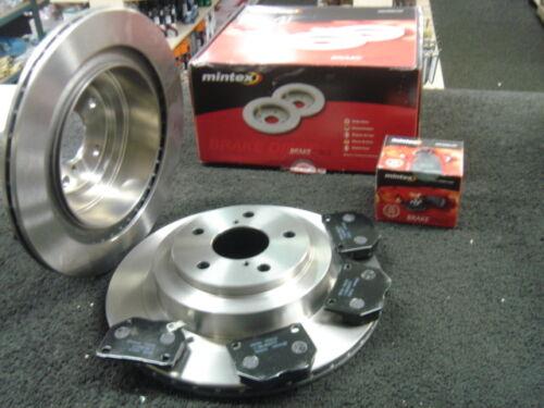 Disco de freno trasero 290MM con almohadillas de ajuste para Impreza WRX Mintex Gdb 00-06