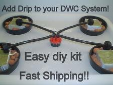ADD drip to your DWC grow system DIY KIT hydroponic