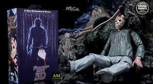 NECA-FRIDAY-THE-13th-PART-III-3D-ULTIMATE-JASON-VOORHEES-FIGUR-NEU-OVP
