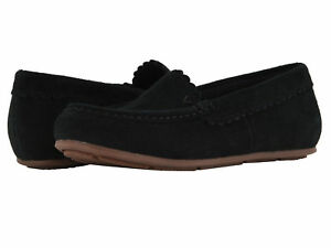 Women-Vionic-Orthaheel-Mckenzie-Flat-10010104-Black-Suede-100-Authentic-New
