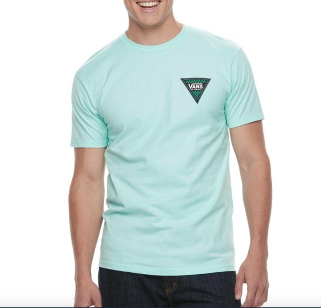 Vans OTW (Ecke Kante) Skate Aqua Tee T Shirt SZ Herren XXL 2xl NWT NEW schnelles Schiff