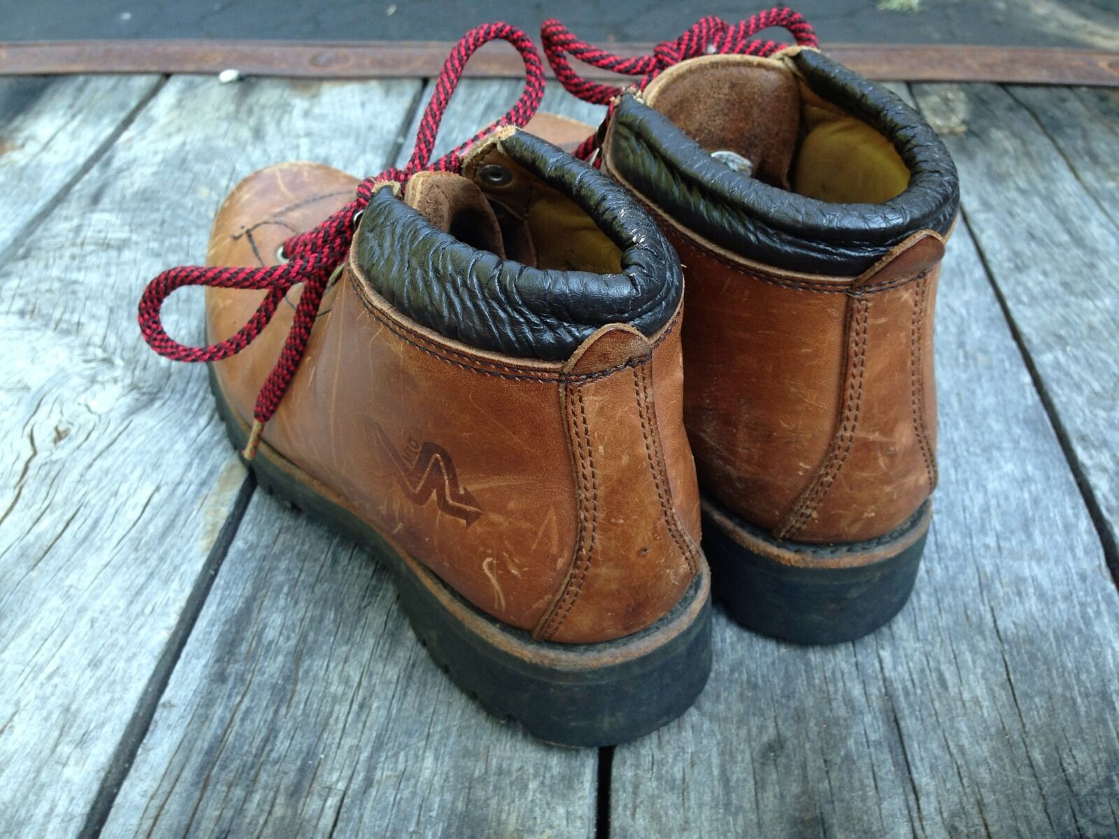 Vintage Mens Milo Mountaineering Hiking Hiking Hiking Climbing Stiefel Größe 7.5  a0cb8a