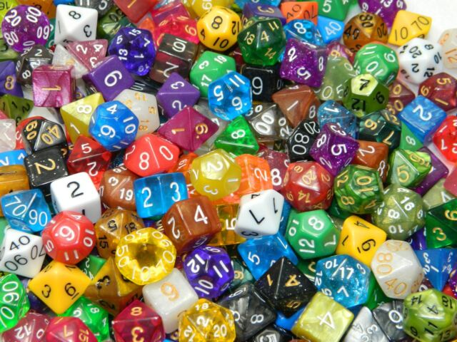 1 4 Pound Of Dice Polyhedral Including