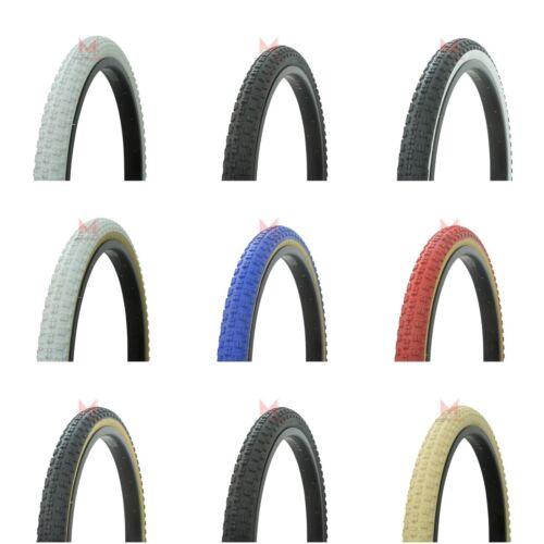NEW 20 x 1.75 Bicycle TIRES Domino Style Beach Cruiser BMX Bike