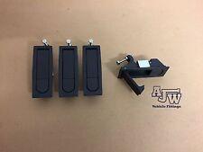 4 X Compression SMALL Latch Lever Lock Horsebox Trailers Locker Doors Tack Box