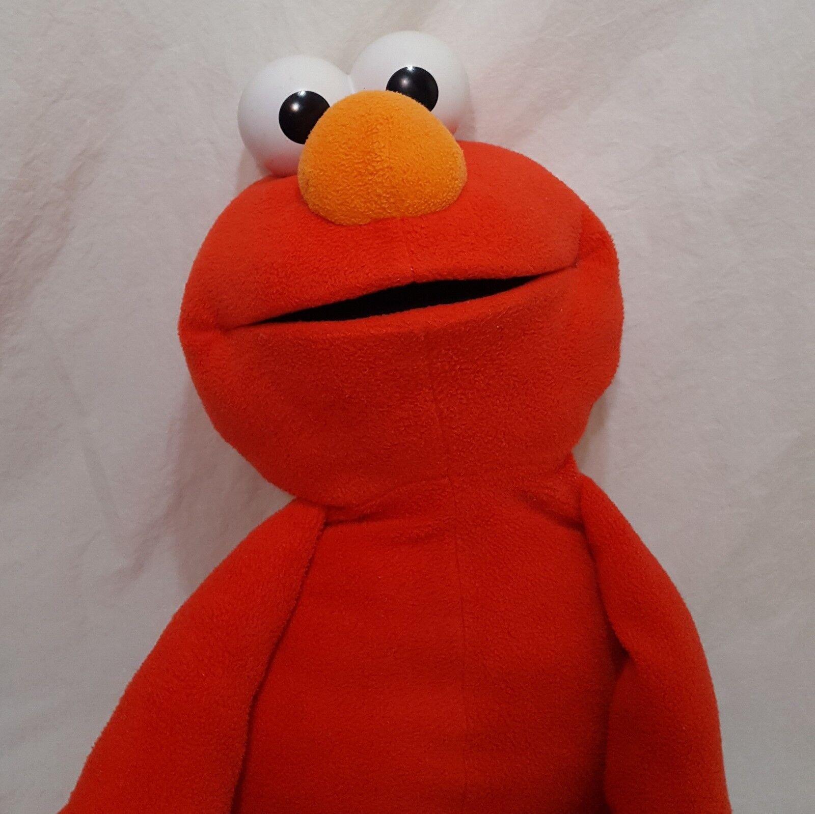 Elmo Grande De Peluche 30  Peluche Juguete Sesame Street Fisher Price 2002