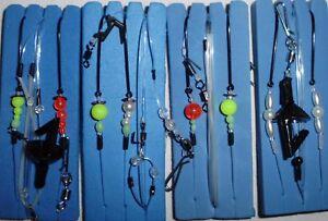 4-Brandungsvorfaecher-Plattfisch-Meer-Brandung-Vorfach-TEAM-Whisbone-KR-Surf-Rig