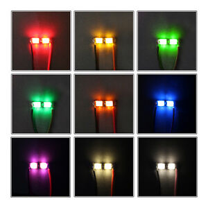 5-x-ledbar-cluster-micro-LED-tipo-0805-con-2-LED-modelo-ferroviario-modellbau-modelos-RC