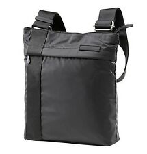 Calvin Klein CK Poliestere Nero Flat crossbody borsa Messenger Utilità 25 x 30cm