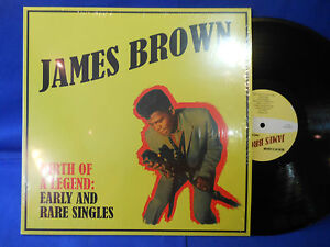 JAMES BROWN rare and early tracks limited 500 copies EXC+