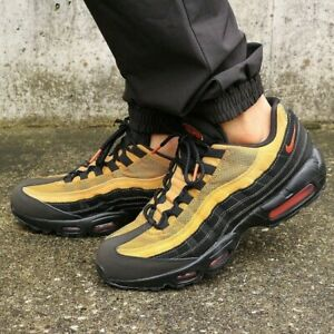 Details about Nike Air Max 95 Essential Shoes Athletic Casual Running  Cosmic Clay-Black-Wheat