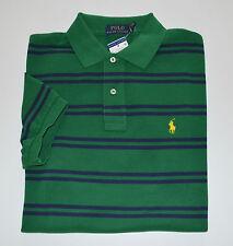 NWT Men's Ralph Lauren Short-Sleeve Polo Shirt, Green, Blue, XL, X-Large