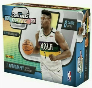 2019-20 Panini Contenders Optic Basketball Sealed Hobby Box (6 Cards | 1 Avg)