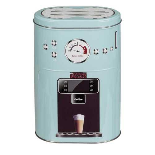 Metall Retro Kaffeedose Espressomaschine Vorratsdose Metalldose Dose Vintage