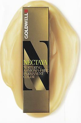 3 x GOLDWELL NECTAYA NURTURING AMMONIA-FREE PERMANENT COLOR 60ML