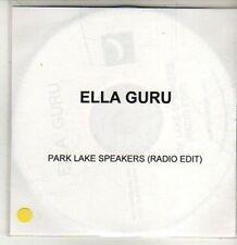 (CU138) Ella Guru, Park Lake Speakers - DJ CD