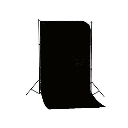 Foto Hintergrund System Linkstar BSK-2016B Schwarzer Stoff 1,50x2,80m #B562501