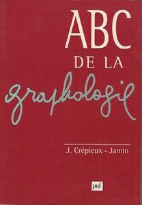 ABC-de-la-graphologie-J-Cremieux-Jamin-PUF-1997-Bon-etat
