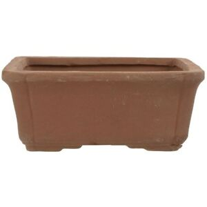 Bonsai-pot-16x12x7cm-brown-rectangular-unglaced-S16003U