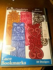 Lace Bookmarks         Embroidery Collection     NEW        Anita Goodesign *