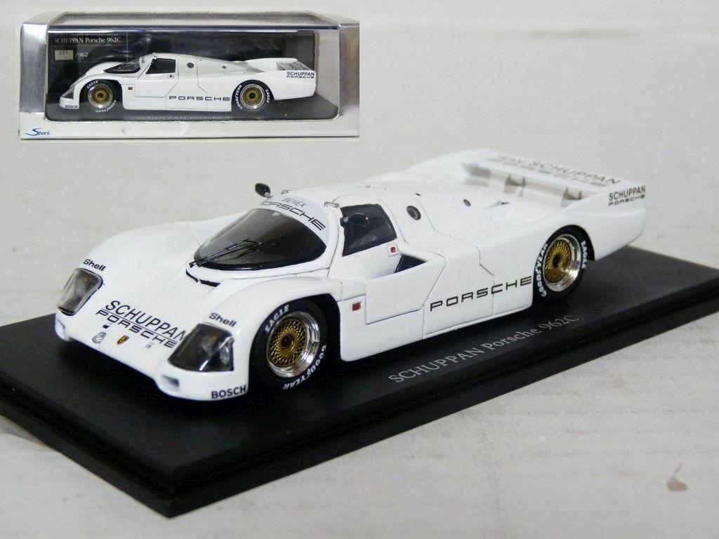 Spark 1 43 Schuppan Porsche 962C Minicar Fan Special Resin Model Car