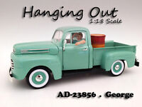 hanging Out George Figure For 1:18 Scale Models By American Diorama 23856