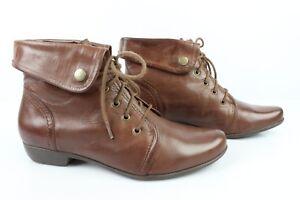 à Bottines SAN BON Marron T Boots Lacets sur ETAT Détails MARINA TRES 37 Cuir 8nO0wNvm