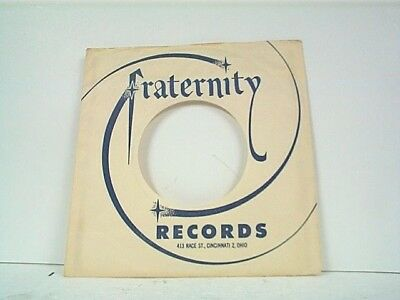 Hot Sale 1-fraternity Record Company 45's Sleeves Lot #152-n Storage & Media Accessories