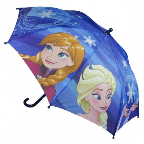 Disney Kinder Regenschirm 74 cm Schirm NEU Frozen Elsa Olaf Anna und Elsa