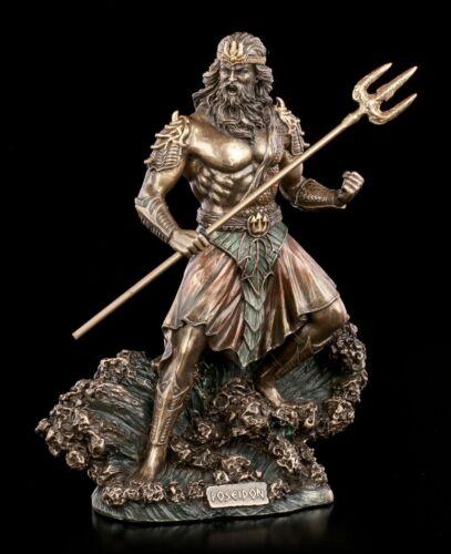 Poseidon personnage avec trident-Veronese meeresgott la mythologie grecque DECO