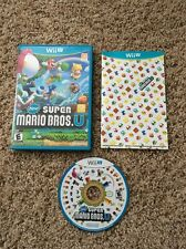 New Super Mario Bros. U (Nintendo Wii U, 2012) Complete! Tested! Free Shipping!